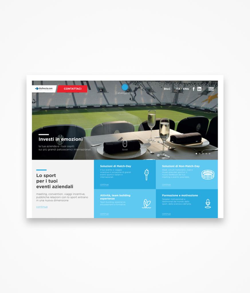 UX/UI Blufreccia